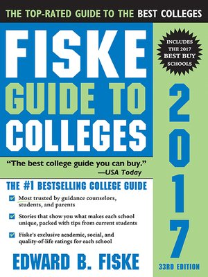 cover image of Fiske Guide to Colleges 2017