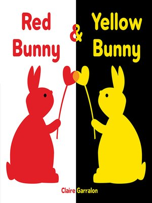 cover image of Red Bunny & Yellow Bunny