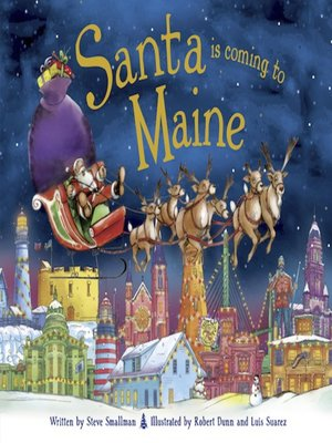cover image of Santa Is Coming to Maine