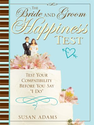 cover image of The Bride and Groom Happiness Test