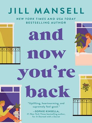 cover image of And Now You're Back