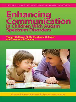 cover image of Enhancing Communication in Children With Autism Spectrum Disorders