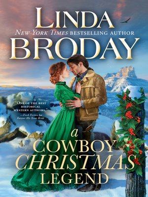 cover image of A Cowboy Christmas Legend