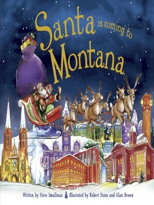 cover image of Santa Is Coming to Montana