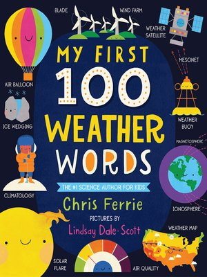 cover image of My First 100 Weather Words