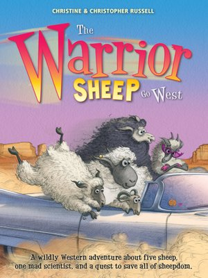 cover image of The Warrior Sheep Go West