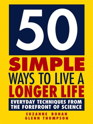 cover image of 50 Simple Ways to Live a Longer Life