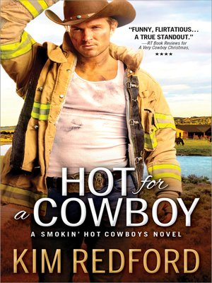 cover image of Hot for a Cowboy
