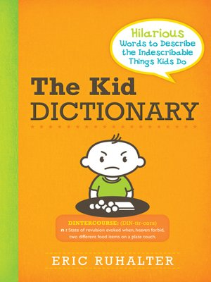 cover image of The Kid Dictionary