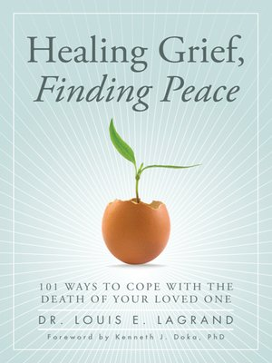 cover image of Healing Grief, Finding Peace
