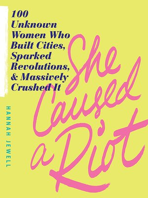 cover image of She Caused a Riot