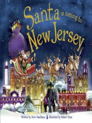 cover image of Santa Is Coming to New Jersey