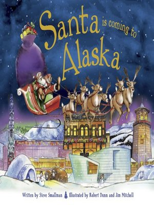 cover image of Santa Is Coming to Alaska