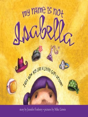 cover image of My Name Is Not Isabella