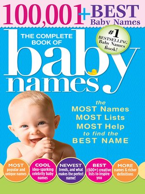 cover image of The Complete Book of Baby Names
