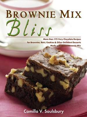 cover image of Brownie Mix Bliss