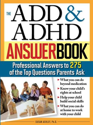 cover image of The ADD & ADHD Answer Book