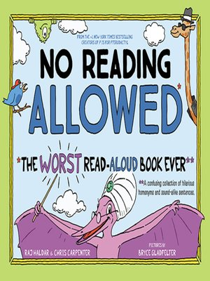 cover image of No Reading Allowed