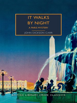 cover image of It Walks by Night