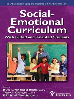 cover image of Social-Emotional Curriculum with Gifted and Talented Students