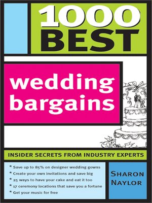 cover image of 1000 Best Wedding Bargains