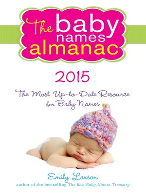 cover image of The 2015 Baby Names Almanac
