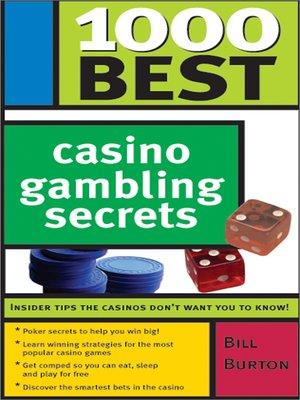 cover image of 1000 Best Casino Gambling Secrets