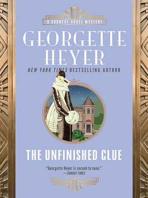 cover image of The Unfinished Clue