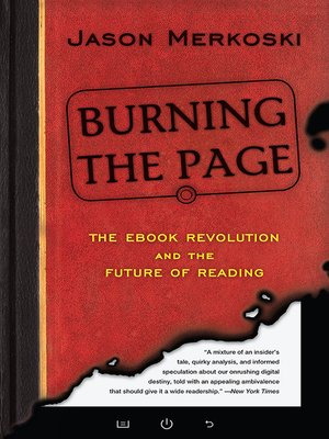cover image of Burning the Page