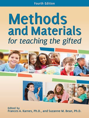 cover image of Methods and Materials for Teaching the Gifted