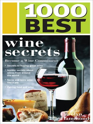 cover image of 1,000 Best Wine Secrets