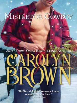 cover image of Mistletoe Cowboy