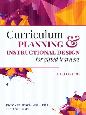 cover image of Curriculum Planning and Instructional Design for Gifted Learners