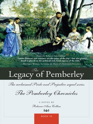 cover image of The Legacy of Pemberley