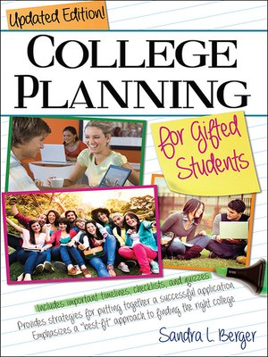 cover image of College Planning for Gifted Students