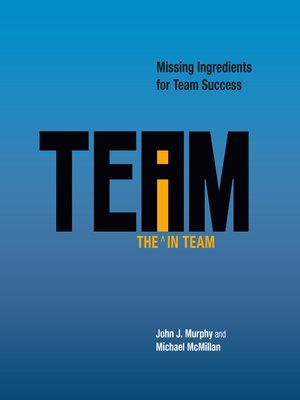 cover image of The the i in Team