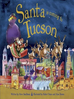 cover image of Santa Is Coming to Tucson