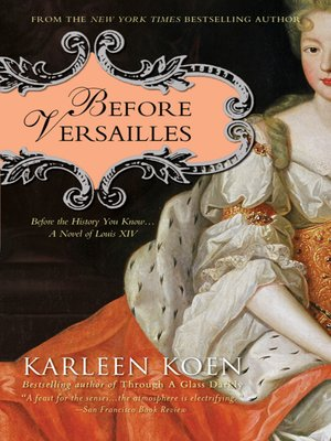 cover image of Before Versailles