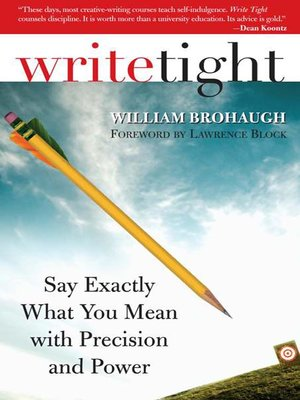 cover image of Write Tight