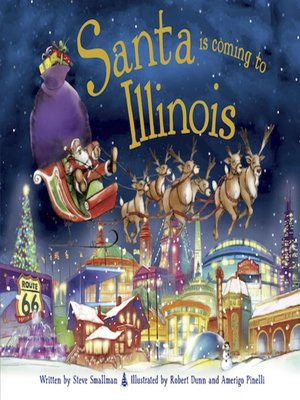 cover image of Santa Is Coming to Illinois