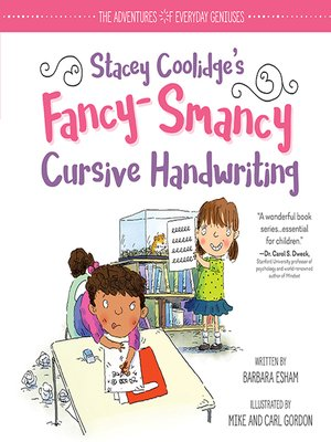 cover image of Stacey Coolidge Fancy-Smancy Cursive Handwriting