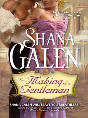 cover image of The Making of a Gentleman