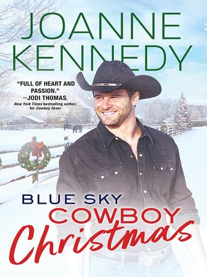 cover image of Blue Sky Cowboy Christmas