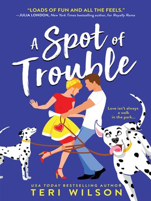 cover image of A Spot of Trouble