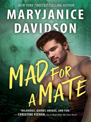 cover image of Mad for a Mate