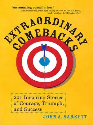 cover image of Extraordinary Comebacks