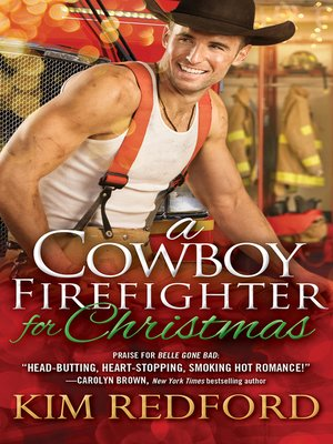 cover image of A Cowboy Firefighter for Christmas