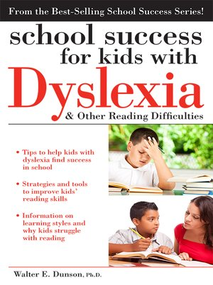 cover image of School Success for Kids with Dyslexia and Other Reading Difficulties