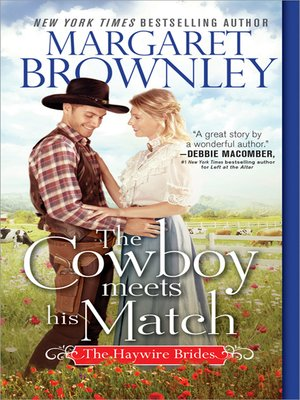 cover image of The Cowboy Meets His Match