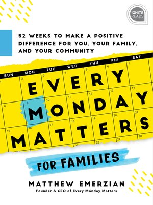 cover image of Every Monday Matters for Families